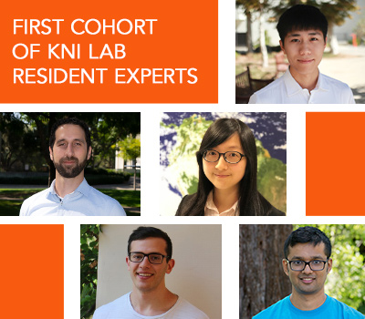 First Cohort of KNI Lab Resident Experts