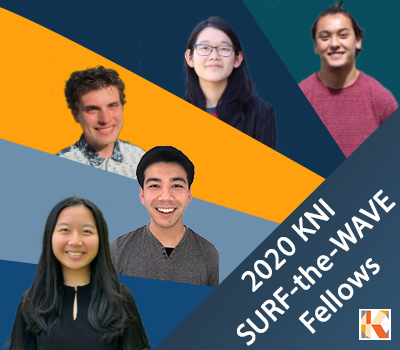 2020 KNI SURF-the-WAVE Fellows